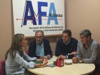 Reunión en AFA Almansa.