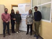 Ruta Social del PP de Albacete en la Asociación APACEAL.