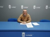 Santiago Blasco, concejal del PP en La Roda.