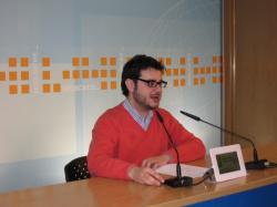 Santiago Quílez, coordinador institucional de NNGG Albacete.