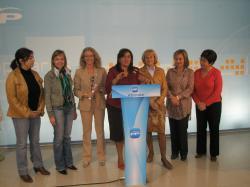 Comisión Provincial de la Mujer en la sede del PP.