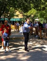 Francisco Núñez, en la Feria de Almansa.