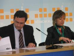 José Luis Teruel e Inmaculada López.