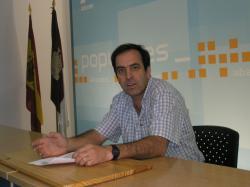 Javier Urrea, portavoz del PP en Villalgordo del Júcar.
