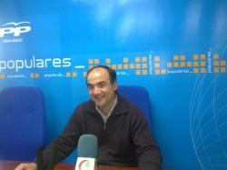 Valentín Bueno, candidato del PP de Villarrobledo.