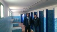 Los concejales de Elche de la Sierra José J. Rodríguez y Miguel A. Lozano.