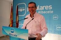 Vicente Aroca en rueda de prensa.