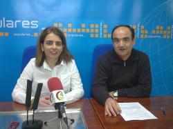 Belén Torres y Valentín Bueno.