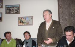 Félix Diego Peñarrubia, en su reunión con los afiliados.