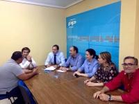 Reunión con el Grupo Popular de Villarrobledo.